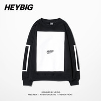 Wholesale China Fashion Men Hoodies - Wholesale-Heaven Blank Man Crewneck Hoodie HBA HOOD BY AIR Sports Pullovers Running Tracksuits Winter Warm Fleece Sweatshirts China Size
