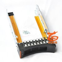 "Wholesale Sas Server - Wholesale- 44T2216 Server HDD tray 2.5"" SFF SAS HDD Tray Caddy for X3400M2 X3500M2 X3650M2 X3550M3 X3650M3 , with screws"