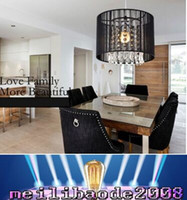 Wholesale Modern Minimalist Chandelier Free Shipping - handmade Modern K9 crystal Chandeliers minimalist fashion hanging lamp living room lighting restaurant light free shipping MYY