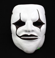 boca livre halloween máscara venda por atacado-Halloween Slipknot Zíper Máscara de Boca Horror Movie Theme Resina Máscaras 100% Original de Alta Qualidade Preço de Fábrica Venda Quente Frete Grátis