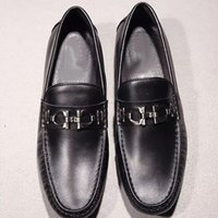 Wholesale Dresses Daily - New Fashion Genuine Leather Casual shoes Men Handmade Loafers Men Comfort shoes Fashion Slip on Daily Dress Shoes Daddy Shoes