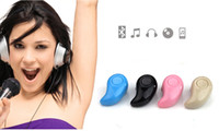 Wholesale Super Light Phone - Mini Bluetooth 4.0 Earphone Stereo Light Wireless Invisible Headphones S530 Super Headset Music answer call Hot selling