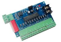 controlador dmx512 al por mayor-12CH DMX512 controlador 12 canales 4 grupos decodificador dmx de salida RGB