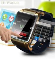 Wholesale Cheap Smartwatch - 015 New Hot Bluetooth Smart Watch WristWatch 1.54'' Hi Watch 2 Smartwatch android Multi-function Facebook Twitter FM Camera Cheap watch ...