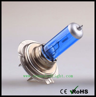 Wholesale Xenon Lights H7 - halogen H1 H3 H4 H7 H11 H8 H12 H16 Xenon Low Beam Light Bulbs White 6000K 12V 60 55 100W