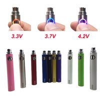 Vente en gros EVOD Variable Voltage batterie 650mAh 900mAh 1100mAh Evod Twist eGo ecig batteries pour MT3 CE4 CE5 atomiseur