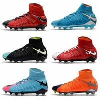 sprint retail - With Retail Box Hypervenom Phantom III DF FG Outdoor Men Trainers Football SHOES In Stock Size US6
