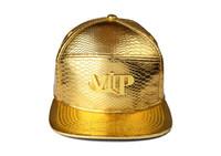 mens couro snapback chapéus venda por atacado-Novos Homens Bonés de Beisebol Hip Hop Snapback PU Couro Casual Unisex Cap Hat Ajustável Snapback Caps chapéus para homens