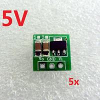 Wholesale Ion Supply - 5p DC DC Boost Step UP Converter 1.5 3V 3.7V 4.5V to 5V Voltage Regulator Power supply Module for 18650 Li-ion battery