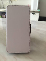 Wholesale Wholesale Blank Iphone Cases - 5 5S Leather DIY sublimation blanks case with magnet and Card slot for iphone 5S free shipping 100pcs lot