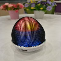 WS-1802 Stand Egg Modo Mini Wireless Wireless Bluetooth altoparlanti LED illuminazione portatile BeatBox Hi-Fi Handfree