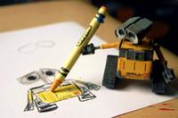 Wholesale Action Wall - Huong Anime Figure 6 CM Wall-E Robot Wall E PVC Figure Action Collectible Toy Model