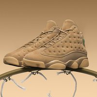 2018 New arrival air retro 13 sapato Wheat Mens basquete shoes AAA + quality retros 13s sport outdoor Sneakers US 8-13 com caixa
