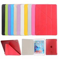 Wholesale Slim Sleeve Holster - iPad6 iPad air2 Transformers holster iPad mini bracket pro9.7 slim silk pattern Y Sleep protective sleeve off hair Factory Outlet