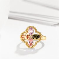 Wholesale Woman S Ring White Gold - Selling Flower Charms Women 's Rings Wholesale Fine Jewelry of Wedding & Engagement Band Rings as Christmas Gift
