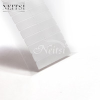 Wholesale Extensions Tabs - Hot Sell Neitsi 10sheets 120pcs Ultra Hold Hair Extension Tape Tabs Original USA Adhesives Tape For Skin Weft Human Hair Long Hold Time