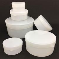 Wholesale aluminum cosmetic bottles - Plastic Cosmetic Jar 5g 10g 20g 30g 50g Cream Empty Bottle Cream Containers Jars Aluminum Box Small Containers