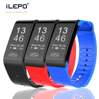 Wholesale Medical Sports - smart bracelet T6 wristband with ECG+PPG Medical Grade Blood Pressure Heart Rate sport smart watch for ios android phone