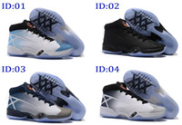 Wholesale Blue Suede Shoes Comfort - 2016 New Fashion Mens Air Retro 30 Basketball shoes, top quality,Comfort Sports Athletic running shoes sneakers size 40-46