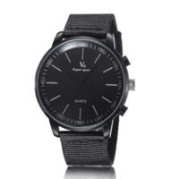 мужские наручные часы v6 оптовых-2016 мужские часы мода военно-популярные спортивные платья часы повседневная открытый нейлон наручные часы мужской высокое качество V6 кварцевые часы