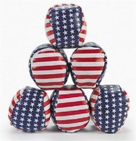 Wholesale Stars and Stripes Kickball Hacky Sacks Package of cm dia