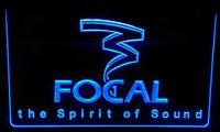 Wholesale Focal Light - LS154-b Focal the Spirit of Sound Neon Light Sign
