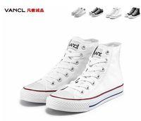 Wholesale Plimsoll White - Canvas shoes Lovers Shoes Men and women to shoes fashion pure color plimsolls movement leisure XC414