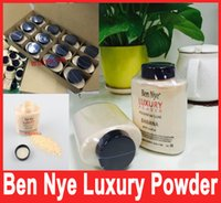 2016 Vendita calda di marca Ben Nye LUXURY POWDER POUDER de LUXE Banana in polvere 3oz / 85g con codice di serie In magazzino Hot Selling