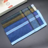 männer taschentücher verkauf großhandel-Baumwollhandtuch Taschentuch Großhandel Männer Schweiß komfortable neue Herren Taschentuch Fabrik Direktverkauf