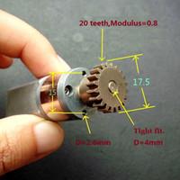 Wholesale 24vdc Motor - 4PCS 195:1 5-24VDC 10-45RPM Full Metal Gear Motor Great Torque
