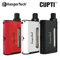 Wholesale Electronic Cigarette Airflow - Original Kanger Cupti 75W Kit All in One Style Kit 5.0ml Top filling Airflow Contorl Tanks 1.5ohm CLOCC Coil electronic cigarettes