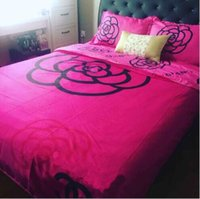 Wholesale Hot Bedding Sets - Hot sale 2017 Home textile 3D bedding-set home textiles bed set new style duvet cover bedspreads 4pcs set queen