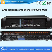 Wholesale Tube Type Amplifiers - 4 Channels and Home Amplifier Type guitar tube amp Fp6000 High Power Professional Power Amplifier with RoHS CE