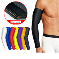 Free Shipping Running Cycling Arm Warmer Sun UV Protection Basketball Volleyball Golf Sports Arm Sleeves Bicycle Bike Arm Covers Warmers