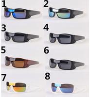 fahrradverkäufe großhandel-heiße Verkaufssommermänner, die Sonnenbrillen fahren, die Schutzbrillenschlägerwolf der Sport-Eyewearfrauen Fahrrad-Glasreisebrille A +++ 8colors geben Schiff frei