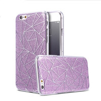 Wholesale Girly Iphone Covers - Glitter Bling Phone Case Stylish Slim TPU PC Back Cover For iPhone 8 8plus 7 7PLUS 6 6S Luxury Elegant Women Girly Case Cover