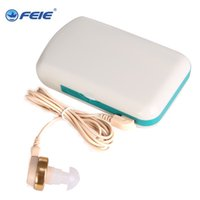 Wholesale Power Listen - Free shipping Cheap deaf equipment power portable wire hearing aid S-7B Assistance Device Listen NATURE SOUND