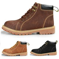 Wholesale Dr Lights - 2017 Newest Classical leather boots Winter ankle Style Dr. Genuine Leather Marten Boots Martin Shoes Men Size 38-44