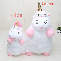 Wholesale Despicable Stuffed Animals - 56cm 40cm Despicable ME Unicorn Plush Toy Soft Stuffed Animal Plush Toys Dolls for girls gifts