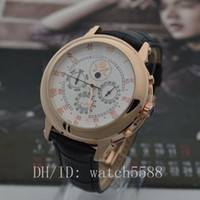 Wholesale Free Craft Work - free shipping! New complex craft sun and moon stars men luxury machinery automatic style double-sided work watches