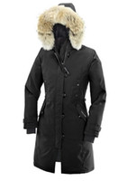 Wholesale Duck Down Jacket Womens - Wholesale Price Top Selling High Quality Womens Goose Down Coat Lady's Winter Coat Goose Down Parka Down & Parkas Winter Jacket Black XS-XXL