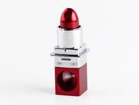 cigarros roxos vermelhos venda por atacado-Atacado Livre DHLFancy Moda Tubo De Batom 2 Cor Vermelho Roxo Magia cachimboTabaco Tubos de Cigarro Mini Canos Portáteis Modern # 046
