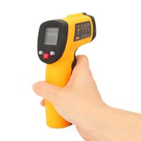Wholesale Laser Infrared Digital Temperature - LCD Non-Contact Pyrometer Digital IR Infrared Laser Point RRP Thermometer Temperature Meter Gun Handheld -50~330°C