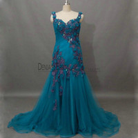 Peacock Blue Dress