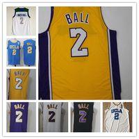 Wholesale Quality Hill - Cheap UCLA College Lonzo Ball Jerseys #2 Lonzo Ball Basketball Jersey Chino Hills High School All Stitched High quality jersey