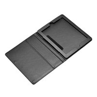 Wholesale Black PU Leather Skin Case Pouch for iPad2 Laptop