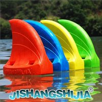Wholesale Swimfin Children Swimming Fins Kickboards Shark Fins Children Water Sports Color Yellow Red Blue Green