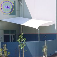 Wholesale Customize x4 M Rectangle Waterproof Sun Shade Sail Combination PU Coated Polyester fabrics with ropes for garden