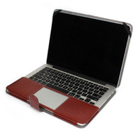 "Wholesale New Arrival Retina - New Arrival multi color optional PU leather case shell protective cases special for Apple Macbook 15.4"" Retina A1398"