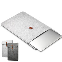 Wholesale macbook case covers - Woolfelt Cover Case 11 13 15 Inch Protective Laptop Bag Sleeve for Apple Macbook Air Pro Retina Laptop Case Cover